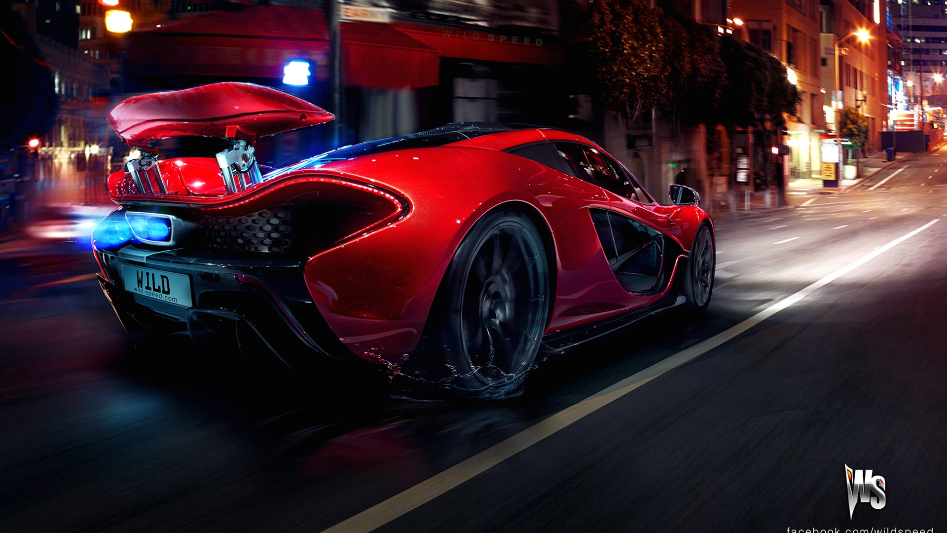 Mclaren p1 super sportscar concept desktop wallpaper
